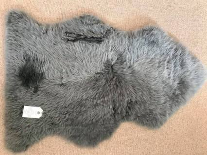 Grey single shaggy