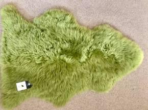 Lime green, single, shaggy